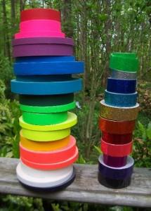 taping hula hoops