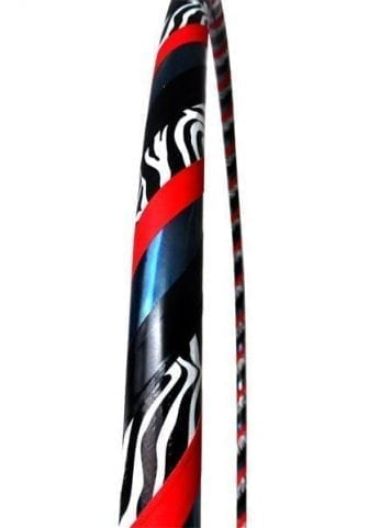 hula hoops zebra