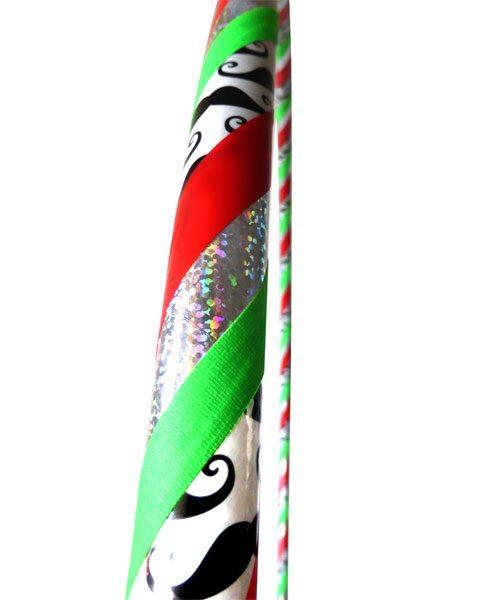 mostache hula hoops