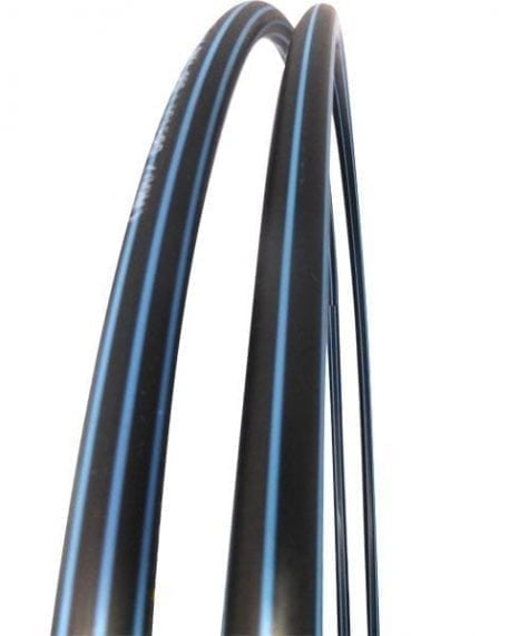 untaped bare hula hoops