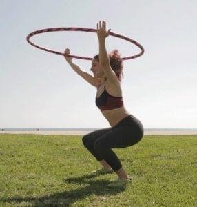 hula hoop workout