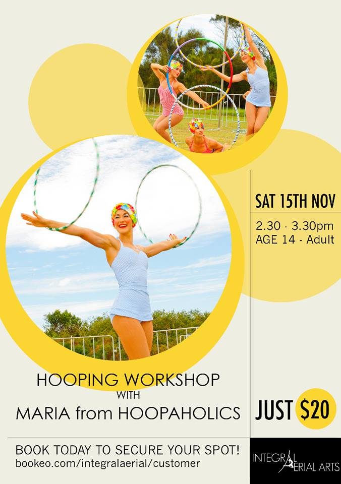 hooping workshop at brookvale