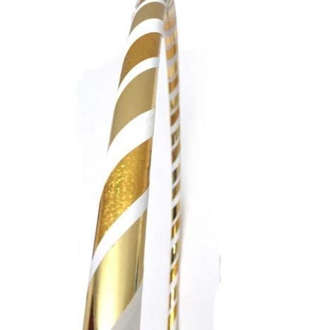 gold hula hoops