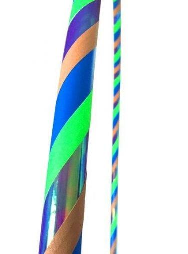 peacock hula hoop