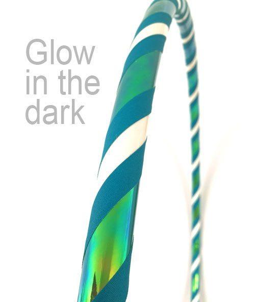 luminus glow in the dark hula hoop