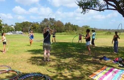 hoop dance classes northern beaches