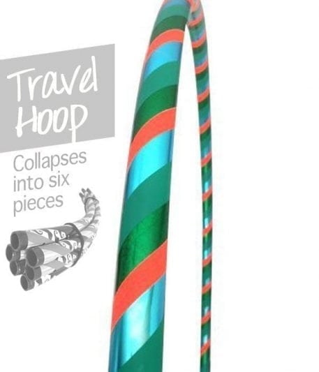 travel hula hoop, collapsible hula hoops