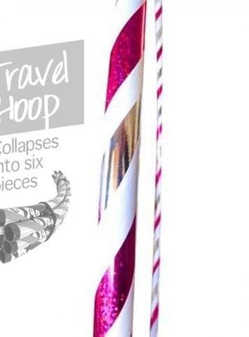 travel hula hoop, collapsible hula hoops