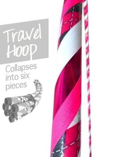 travel hula hoops, collapsible hula hoops