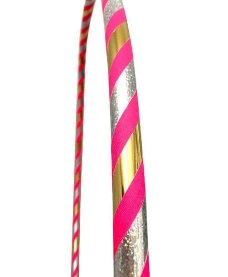 rose champagne hula hoop