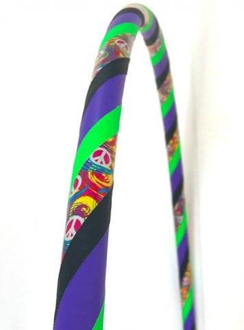 woodstock hippie hula hoop