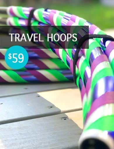 Travel Hula hoops collapsable buy in australia