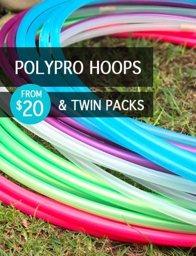 Poly pro hula hoops to buy australia